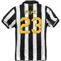 2010-11 Juventus Nike Home (Pepe 23)