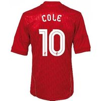 2010-11 Liverpool Home Shirt (Cole 10) European Style - Kids