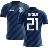 2018-2019 Argentina Away Concept Football Shirt (Dybala 21) - Kids