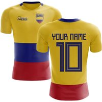 2018-2019 Colombia Flag Concept Football Shirt (Your Name)