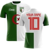 2018-2019 Algeria Home Concept Football Shirt (Your Name) -Kids