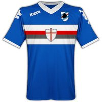 2010-11 Sampdoria Home Kappa Football Shirt (Kids)