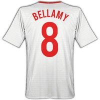 2010-11 Wales Umbro Away Shirt (Bellamy 8)