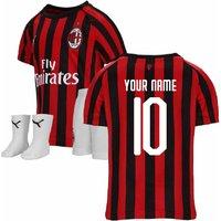 2019-2020 AC Milan Puma Home Baby Kit (Your Name)