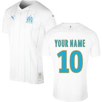 2019-2020 Olympique Marseille Puma Home Football Shirt (Kids) (Your Name)