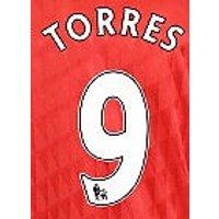 2010-11 Liverpool Fernando Torres Home Shirt Printing