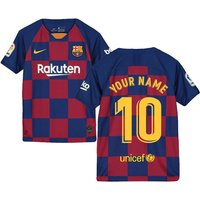 2019-2020 Barcelona Home Nike Shirt (Kids) (Your Name)