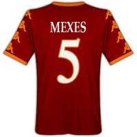 2010-11 Roma Kappa Home Shirt (Mexes 5)