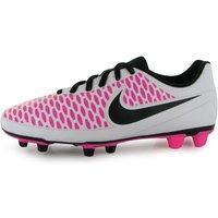Nike Magista Ola FG Mens Football Boots (White-Pink)