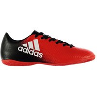 Adidas X 16.4 Mens Indoor Court Trainers (Red-Black)