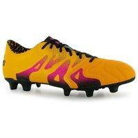 Adidas X 15.1 Leather FG Mens Football Boots (Solar Gold)