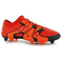 Adidas X 15.2 FG Mens Football Boots (Bold Orange)