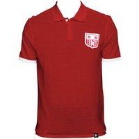 Southampton Retro Red Polo Shirt