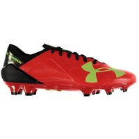 Under Armour Spotlight Hybrid FG Mens Football Boots (Red)