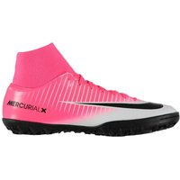 Nike Mercurial Victory Dynamic Fit Mens Astro Turf Trainers (Pink-Silver)