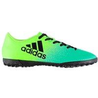 Adidas X 16.4 Mens Astro Turf Trainers (Solar Green-Black)