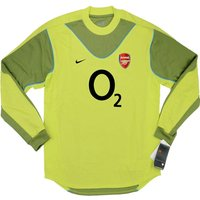 2003-2004 Arsenal Nike Goalkeeper Shirt