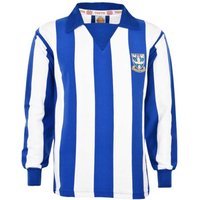 Sheffield Wednesday 1970s Stripe Retro Football Shirt