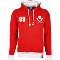 Sheffield United Number 89 Retro Hoodie