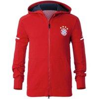 2017-2018 Bayern Munich Adidas Anthem Jacket (Red)
