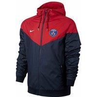 2017-2018 PSG Nike Authentic Windrunner Jacket (Navy)