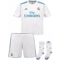 2017-2018 Real Madrid Adidas Home Full Kit (Kids)