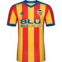 2017-2018 Valencia Adidas Away Football Shirt