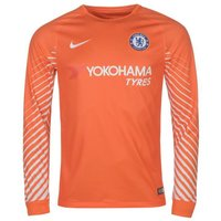 2017-2018 Chelsea Home Nike Goalkeeper Shirt (Orange) - Kids
