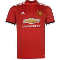 2017-2018 Man Utd Adidas Home Football Shirt