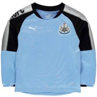 2017-2018 Newcastle Puma Sweat Top (Blue) - Kids