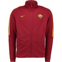2017-2018 AS Roma Nike Authentic Franchise Jacket (Team Red)