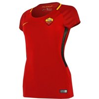 2017-2018 Roma Home Nike Womens Football Shirt
