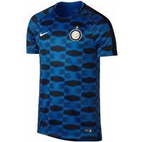 2017-2018 Inter Milan Nike Pre-Match Training Shirt (Blue)