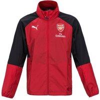 2017-2018 Arsenal Puma Rain Jacket (Chilli Pepper)