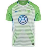 2017-2018 VFL Wolfsburg Home Nike Football Shirt