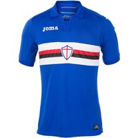 2017-2018 Sampdoria Joma Home Football Shirt (Kids)