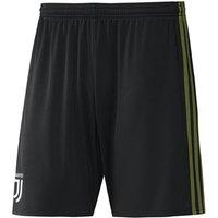 2017-2018 Juventus Adidas Third Shorts (Black)