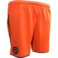 2017-2018 Arsenal Away Goalkeeper Shorts (Orange) - Kids