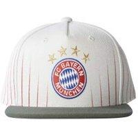 2017-2018 Bayern Munich Adidas Flat (Crystal White)