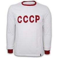 CCCP Away 1970's Long Sleeve Retro Shirt 100% cotton