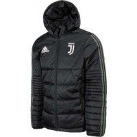 2017-2018 Juventus Adidas Padded Winter Jacket (Black)