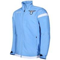 2017-2018 Lazio Macron Full Zip Training Jacket (Blue)