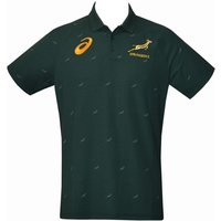 2017-2018 South Africa Springboks Performance Polo Shirt (Bottle Green)