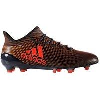 Adidas X 17.1 FG Mens Football Boots (Black-Orange)