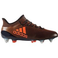 Adidas X 17.1 SG Mens Football Boots (Black-Orange)