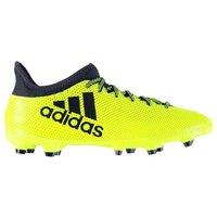Adidas X 17.3 FG Mens Football Boots (Solar Yellow)