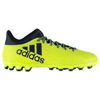 Adidas X 17.3 AG Mens Football Boots (Solar Yellow)