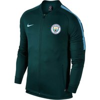 2017-2018 Man City Nike Core Trainer Jacket (Outdoor Green)