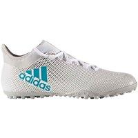 Adidas X 17.3 Mens Astro Turf Trainers (White-Blue)