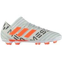 Adidas Nemeziz Messi 17.3 FG Mens Football Boots (White-Orange)